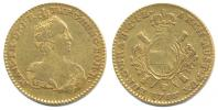 2 Souverain d'or 1766 Brusel
