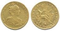 2 Souverain d'or 1763 Brusel