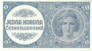 1 koruna 1946 neperforovaná